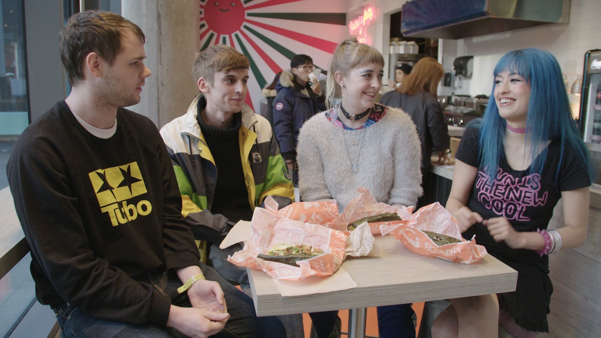 We Made Sushi Burritos with Kero Kero Bonito and Discussed Their Jubilant Debut Album