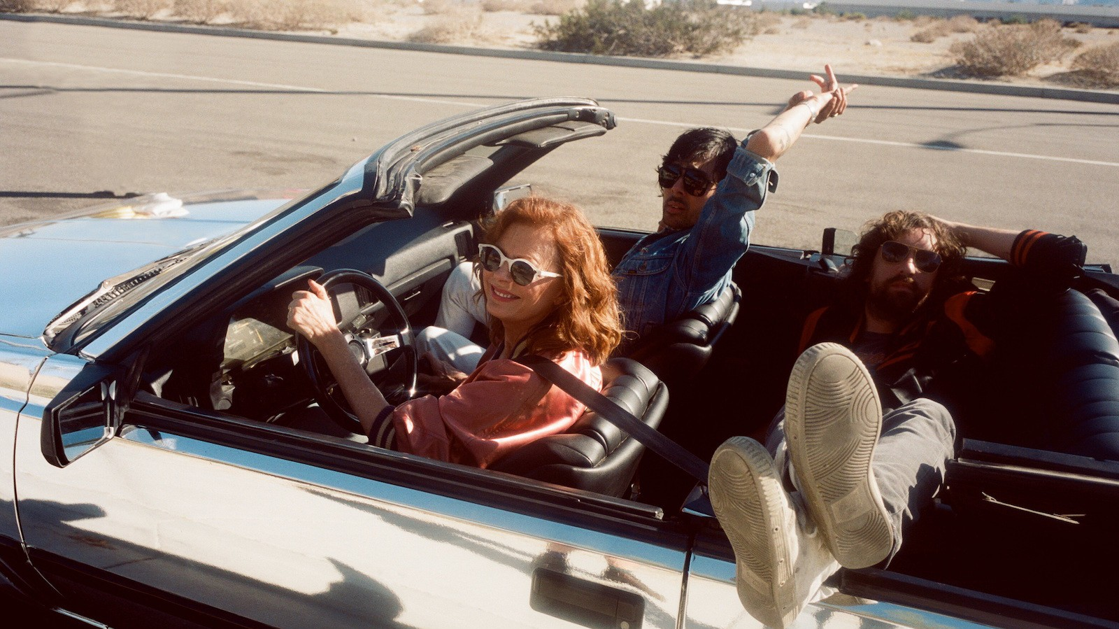 "Watch Justice and Susan Sarandon Hit the Highway in the New ""Fire"" Video"