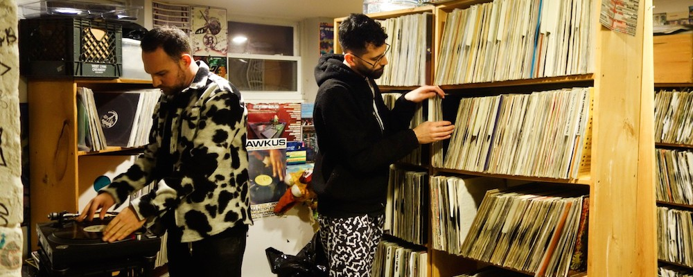 Soul Clap Take a Tour Through the 10,000 Records in Their Childhood Basement