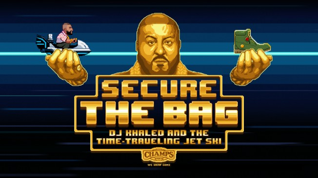 You Can Now 'Secure the Bag' in DJ Khaled's First Video Game