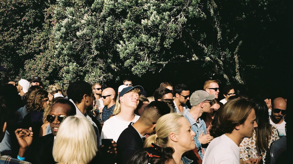 This is Theo Parrish Playing Auckland Art Gallery, by Jun Iwasaki
