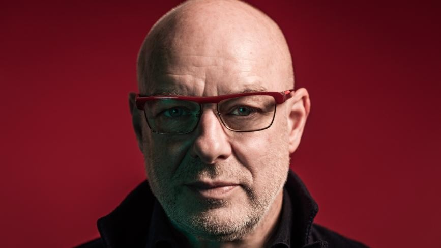 "Brian Eno Says Trump's Election Gives People a Chance To ""Really Rethink"""