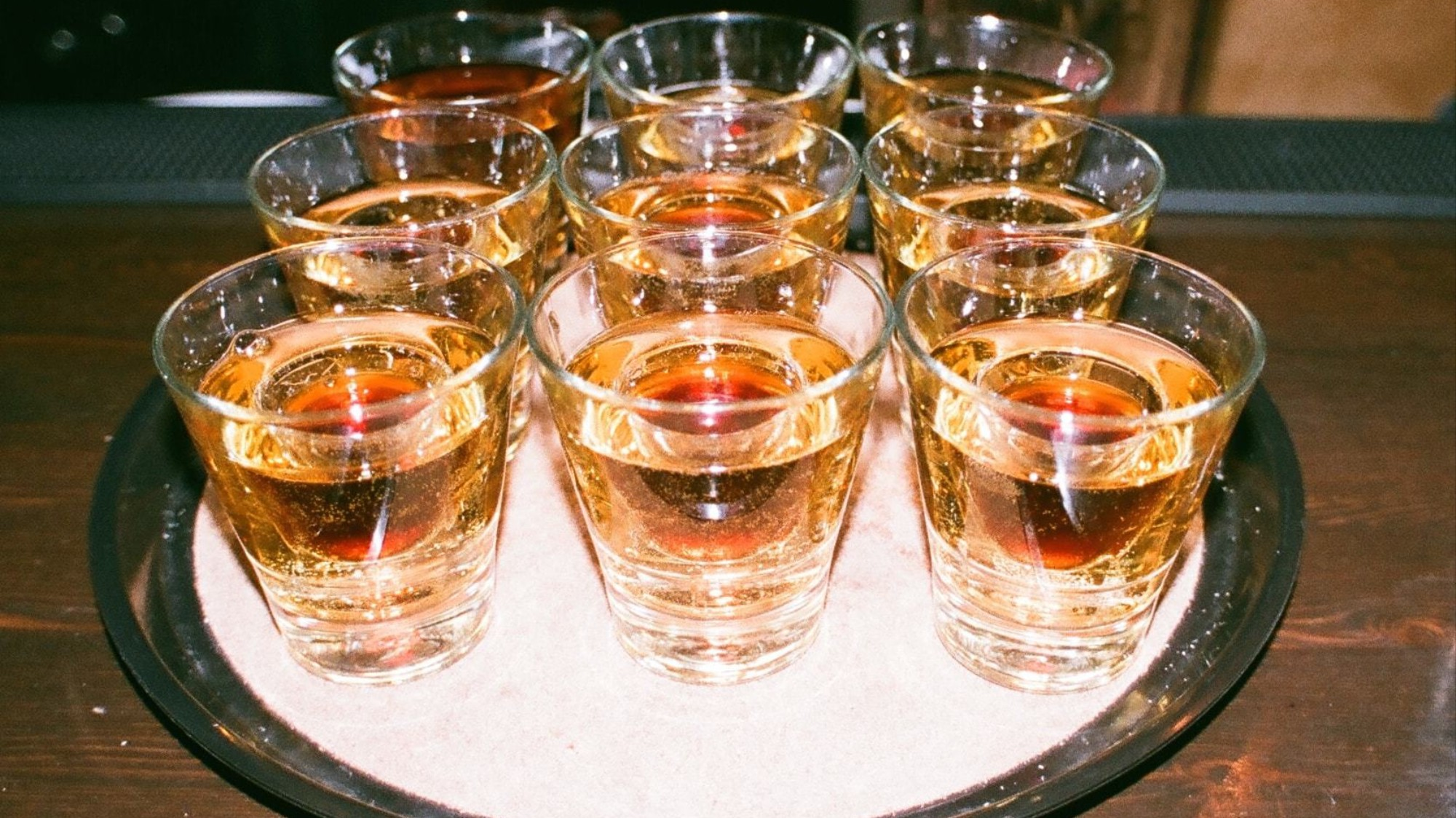 Image result for tray of jagerbombs