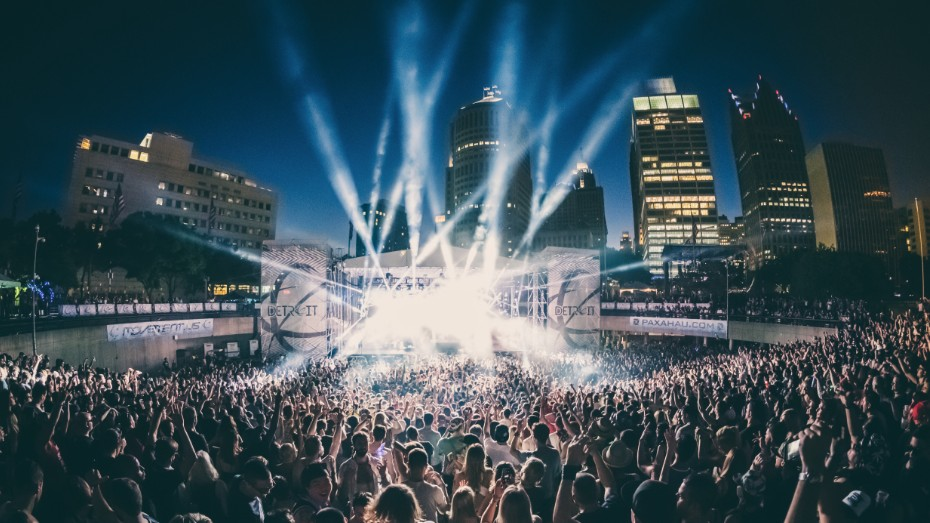 Deadmau5, Richie Hawtin, and More Added to Detroit Movement Festival's 2017 Lineup