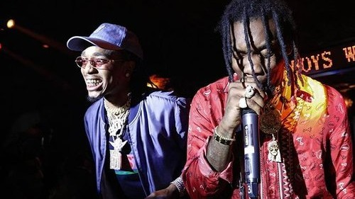 Migos Punked Fashion Week by Buying Everyone Pizza at NYC's Most VIP Club