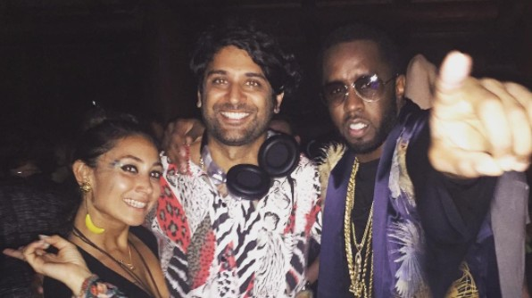 Diddy Threw a Another Massive Techno Party at His Mansion in Miami This Weekend