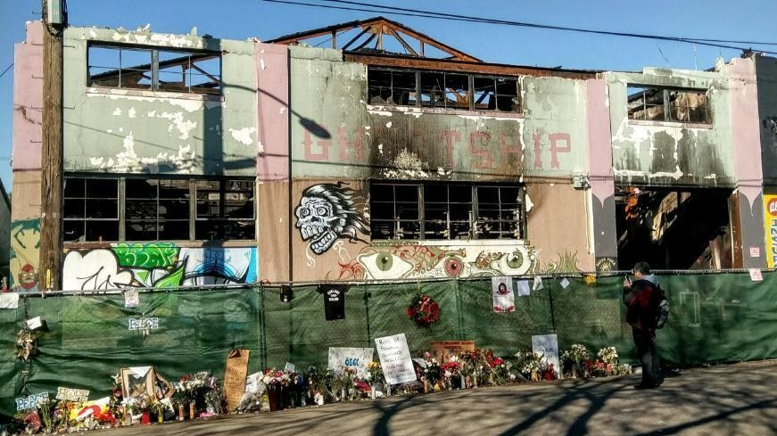 New Lawsuit Filed by Father of Ghost Ship Fire Victim