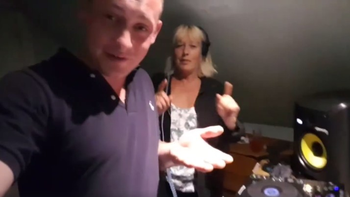 This Drum and Bass DJ Taught His Mum How to DJ and She Totally Killed It