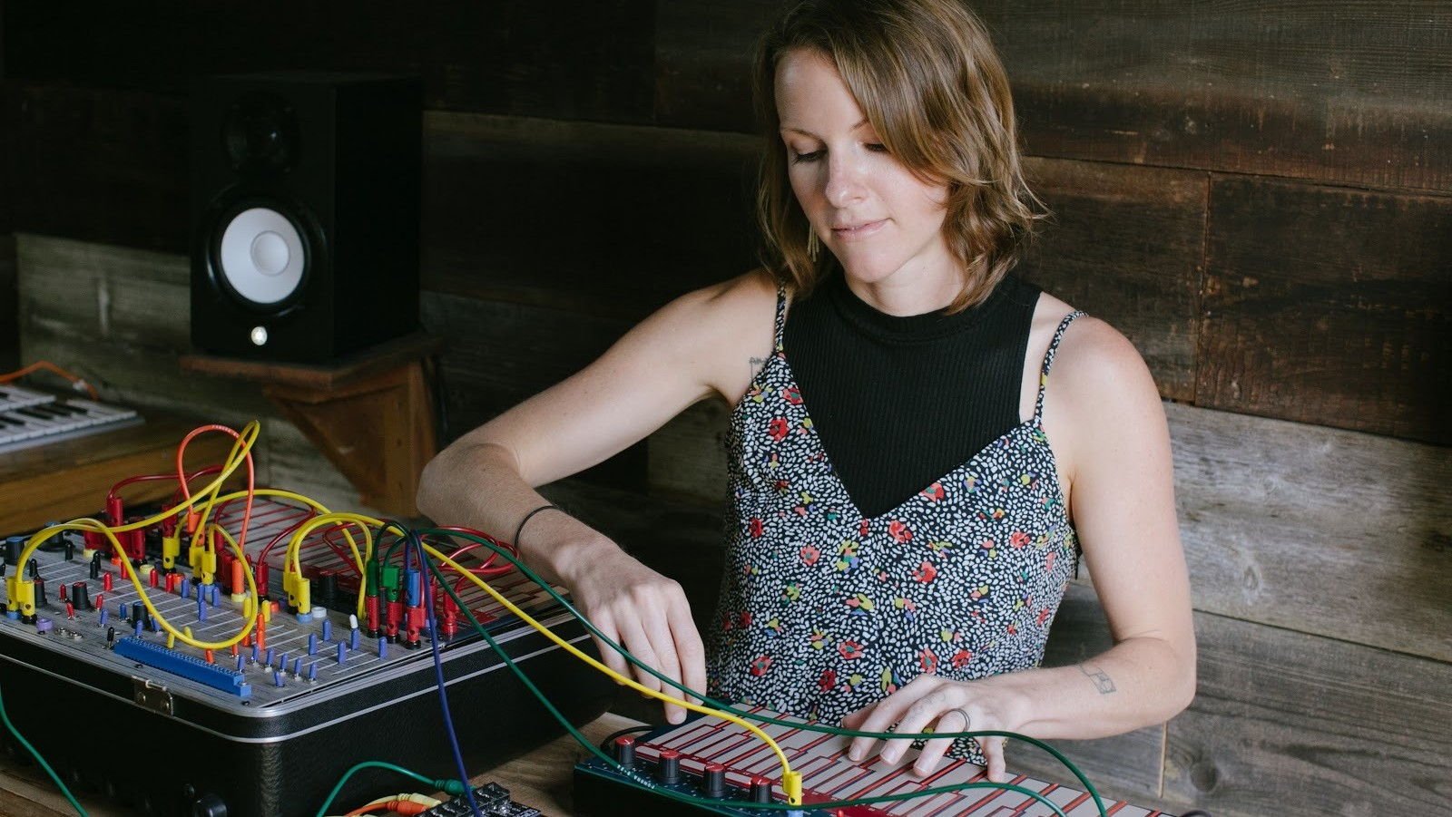 Join Kaitlyn Aurelia Smith on a Seriously Trippy Excursion to the Moon and Back with This Roger Goula Remix
