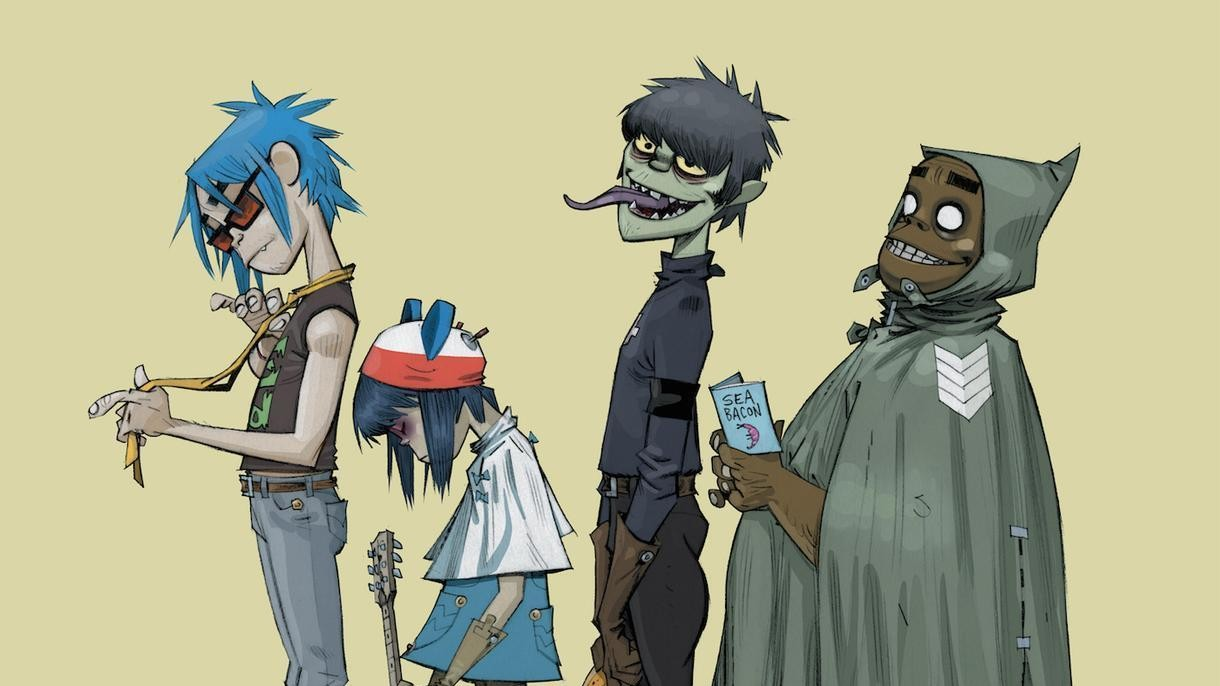 Gorillaz Are Sharing Tracks From Their New Album 'Humanz'