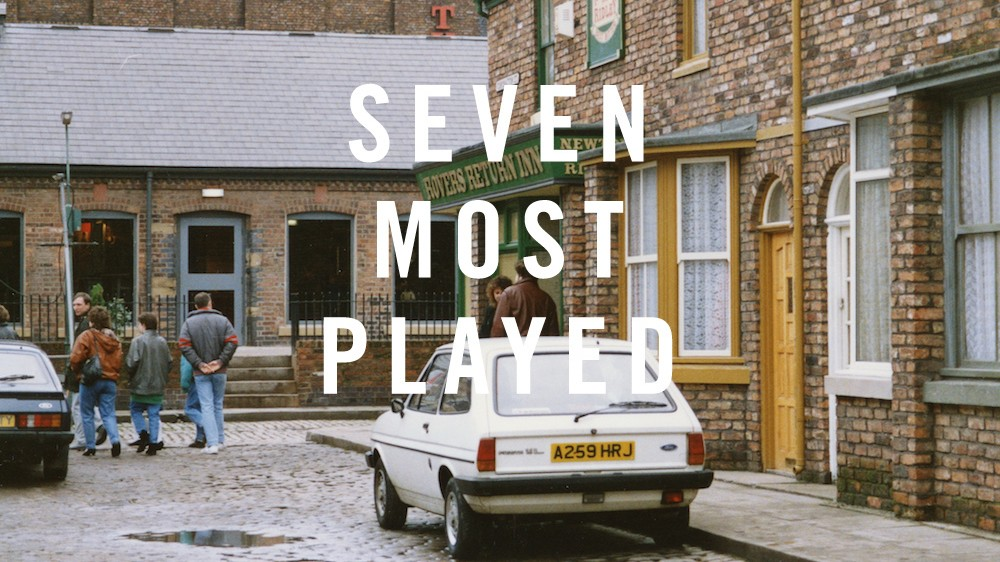 Is Music Better than Corrie? Find Out in This Week's Seven Most Played