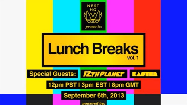 12th Planet & Kastle Live on Lunch Breaks!