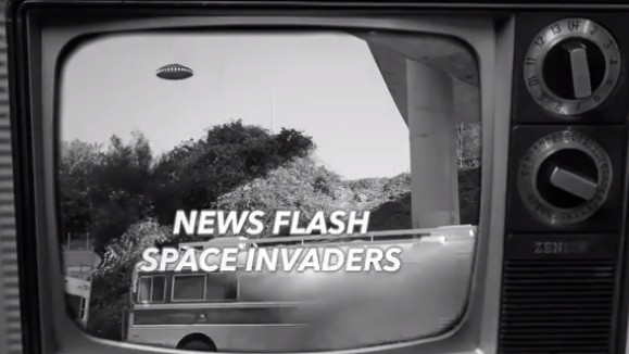 "A Kid Stops a Martian Invasion on Fabricio Peçanha's Video for ""Space Invaders"""