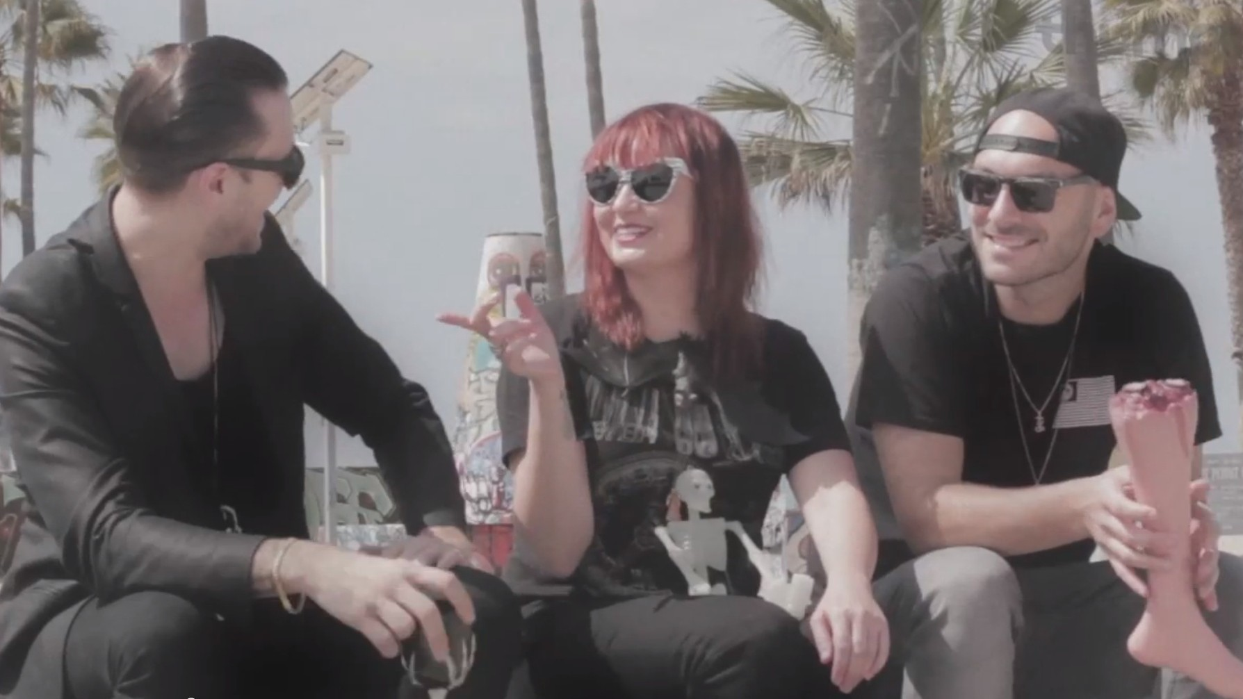 Trouble & Bass Crew Are Vampires at the Beach