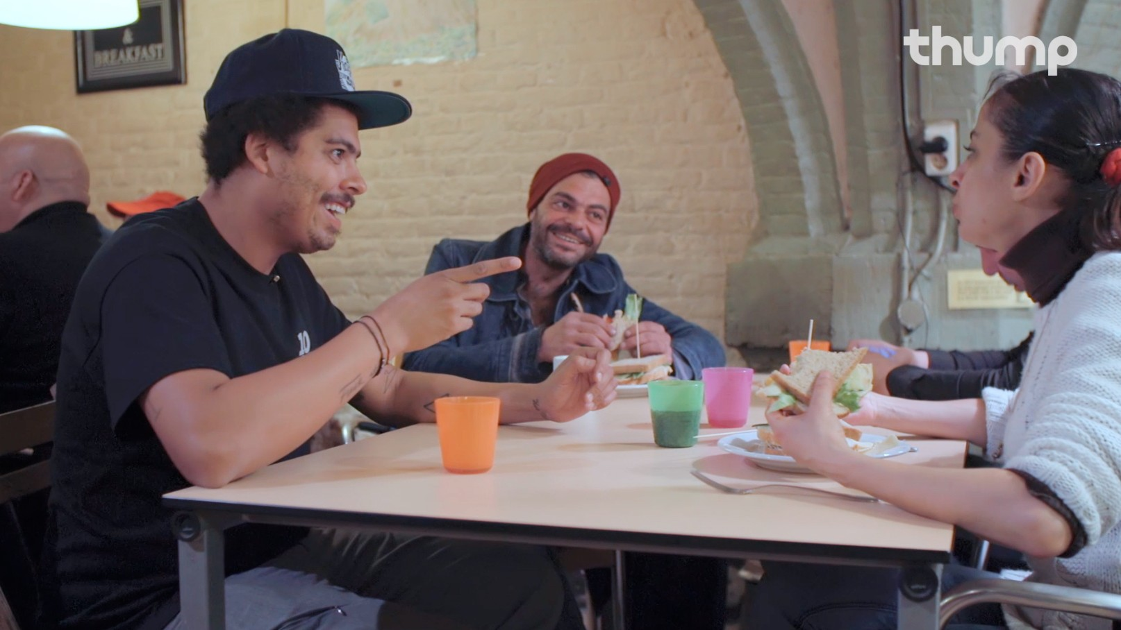Watch Seth Troxler Cook for the Homeless at a Shelter in Amsterdam
