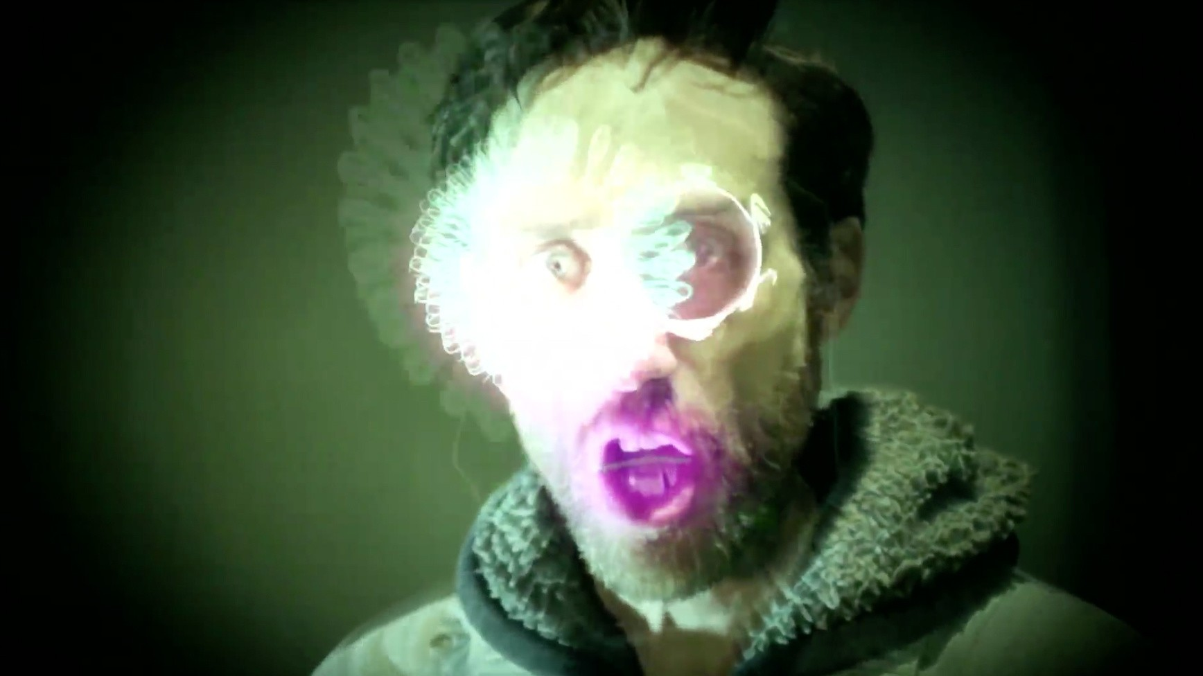 Beardyman Sent Us a Video Transmission From Another Galaxy
