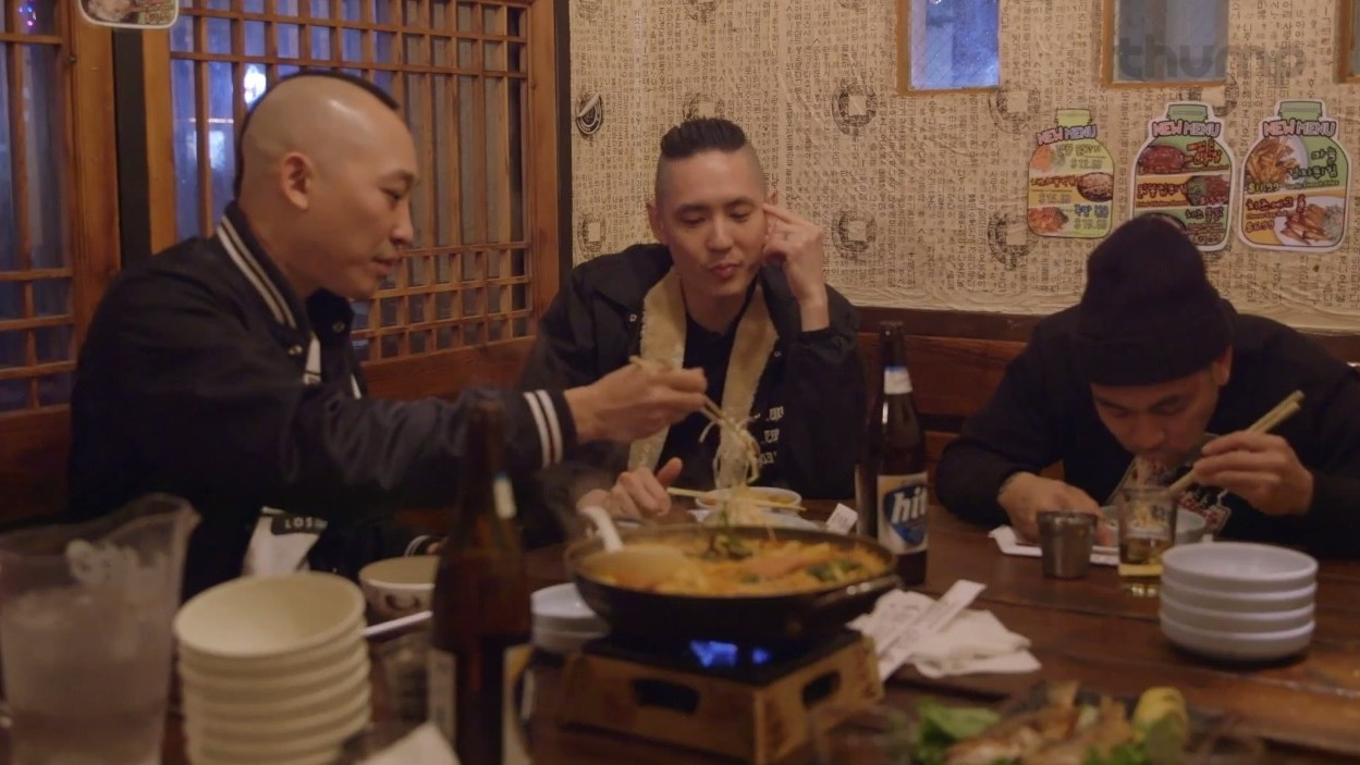 We Scarfed Korean Bar Food with Far East Movement