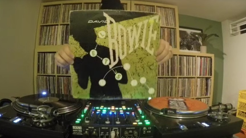 Watch This Canadian DJ's Brilliant Turntable Tribute to David Bowie