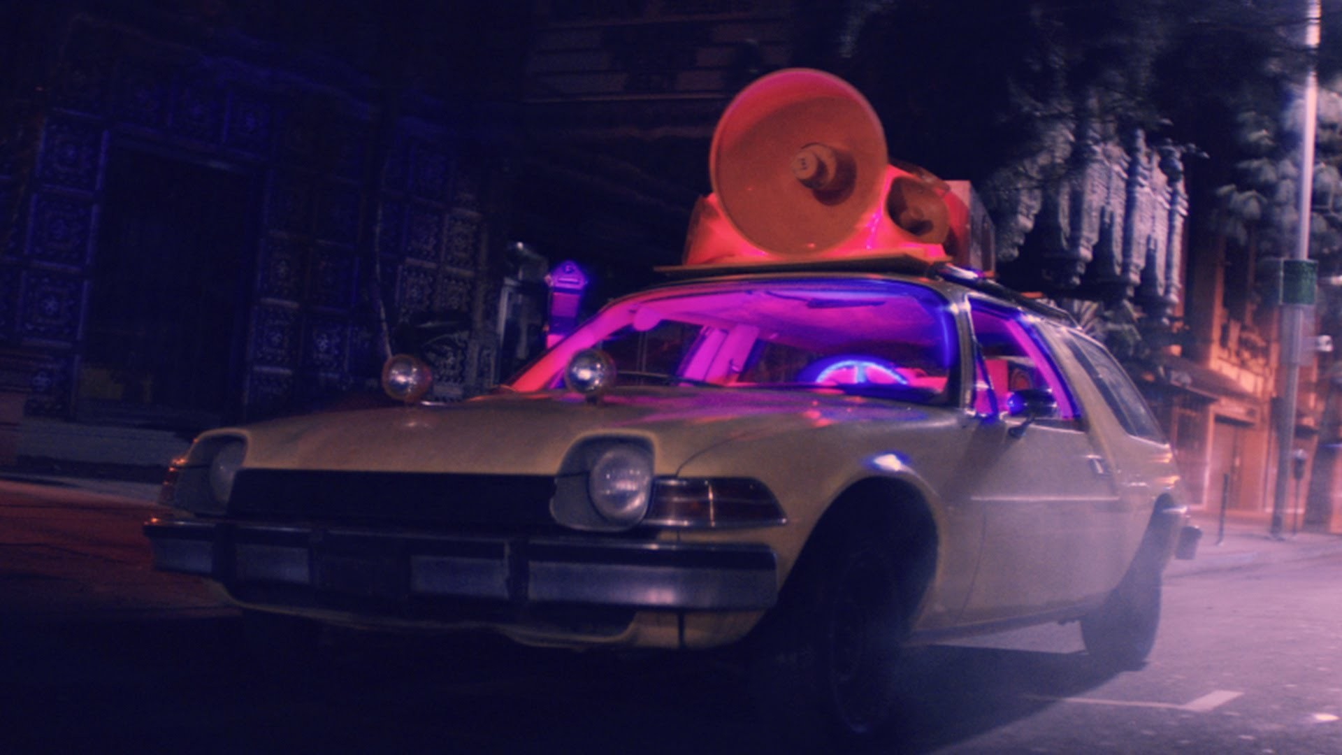 "Ride the Delorean in Alex Metric's Retrofuturistic ""Drum Machine"" Video"