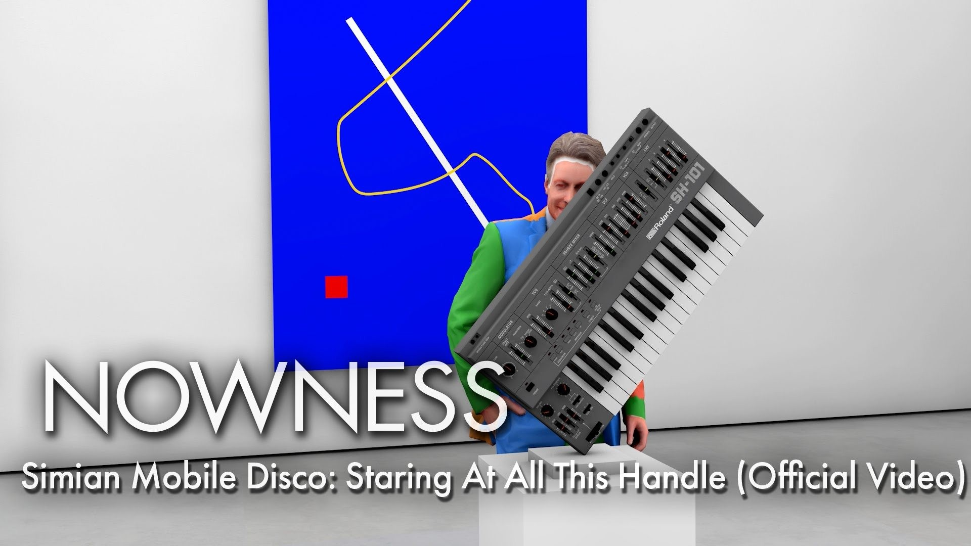 Simian Mobile Disco's Takes Us On a Tour of a Dazzling Virtual Art Gallery