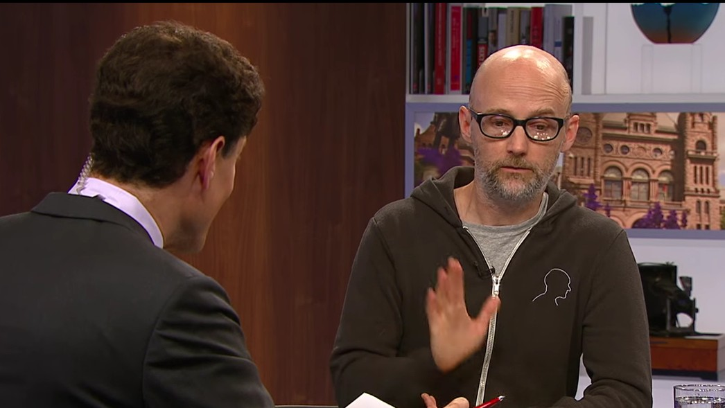 Moby Has Opinions on Justin Bieber and Donald Trump and You're Going to Hear Them!!!