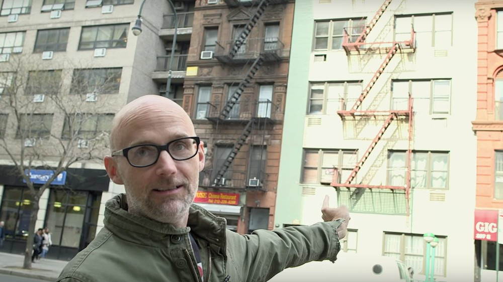 Moby's Documentary About His Life In 90s New York Is Here