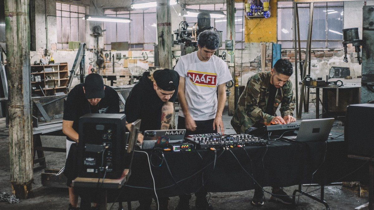 Watch NAAFI Explain Their Engagement with Identity, Politics and Global Club Culture