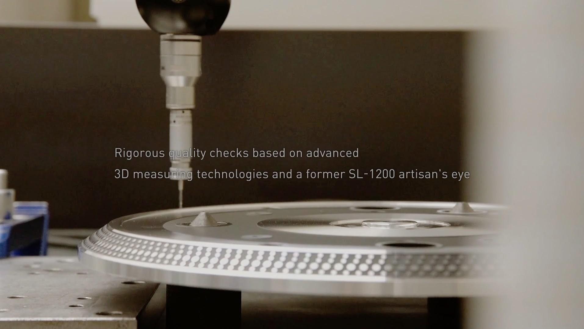 Así se construyen las nuevas tornas de Technics SL-1200