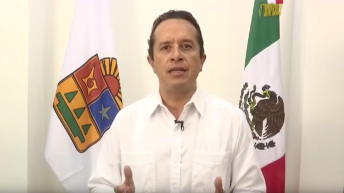El Gobernador de Quintana Roo da un mensaje oficial sobre el acontecimiento en BPM