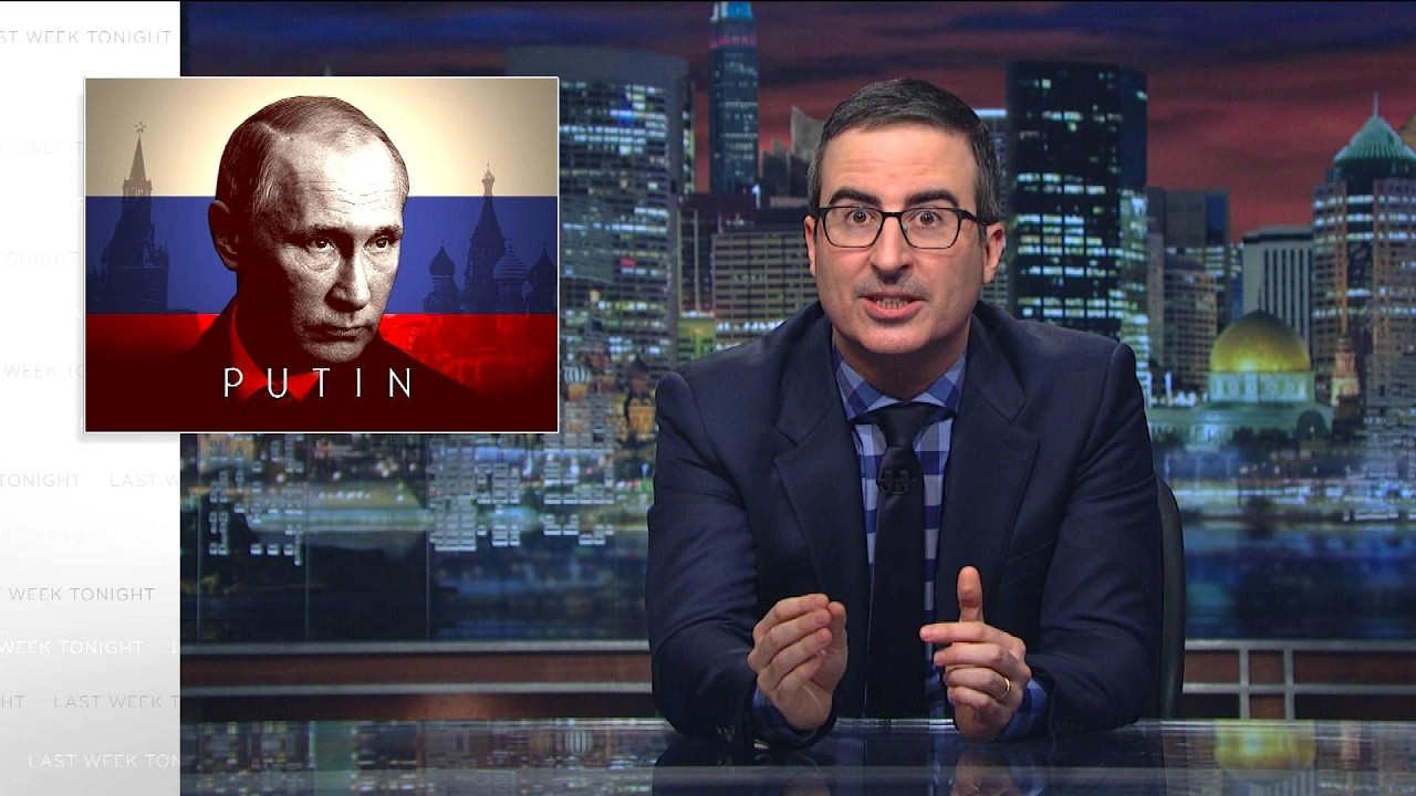 "John Oliver Made A ""Shitty Techno"" Song to Warn Trump About Putin"