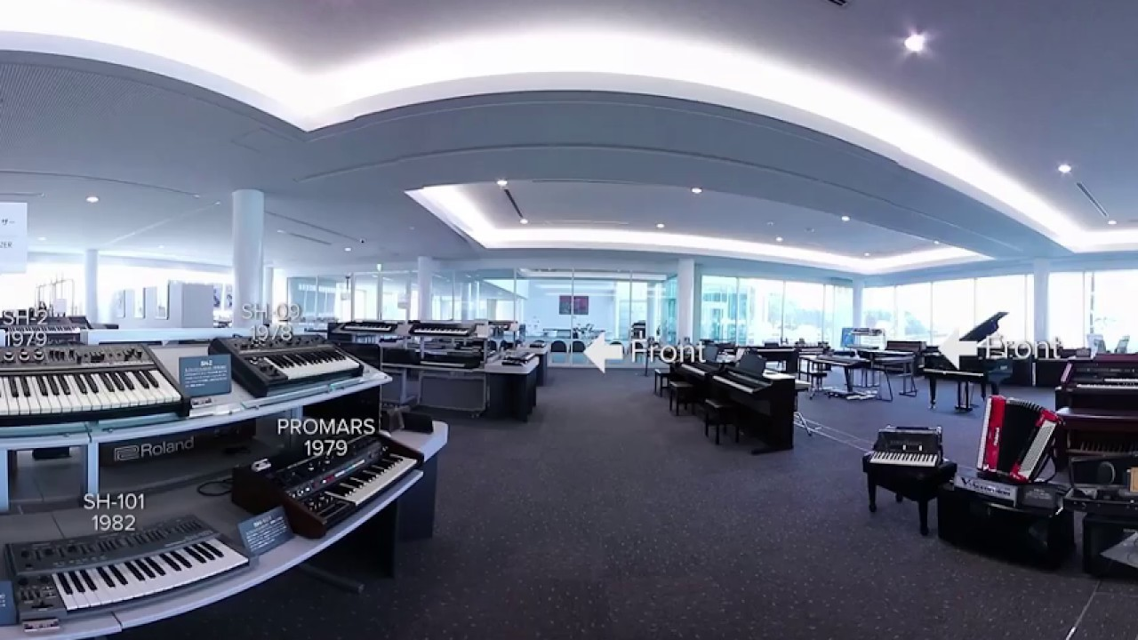 Take a 360 Degree Virtual Tour Around Japan's Dreamlike Roland Museum