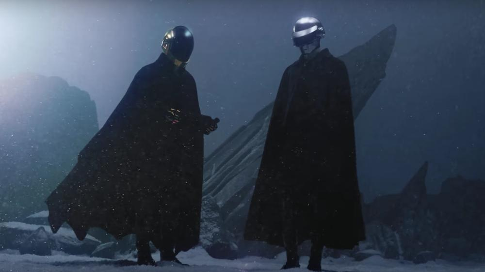 The Weeknd and Daft Punk Channel 1950s Sci-Fi in Intergalactic 'I Feel It Coming' Video